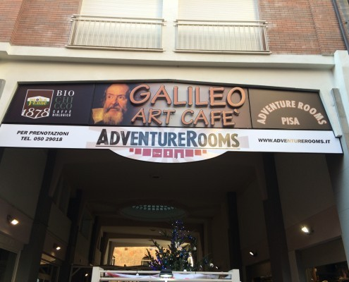 Sede di Pisa Adventure Rooms